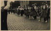 Oudenaarde. Huwelijksfeesten der Oudenaardse reuzen. 5 september 1948