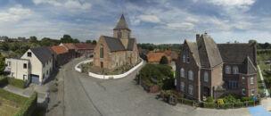 Rozebeke: panoramafoto dorp