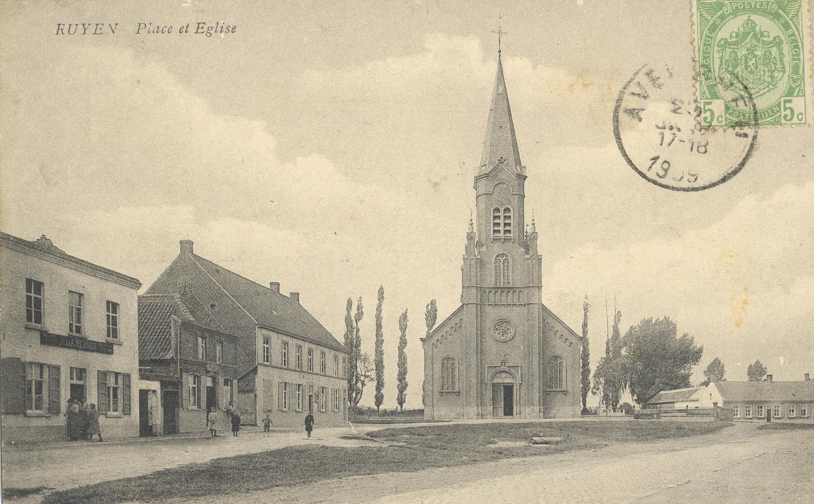 EK 406 Kerk van Ruien