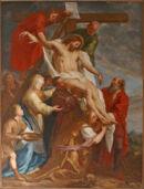 Schilderij - kerk Hemelveerdeem