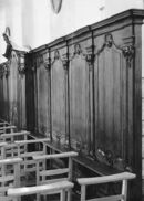 Lambrisering kerk Deftinge