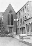 Klooster Deftinge - buitenaanzicht kapel