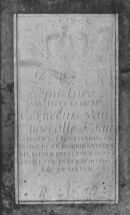 Grafsteen kerk Deftinge