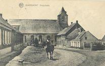 EK 343 Kwaremont dorpsplein afgestempeld 1926.JPG