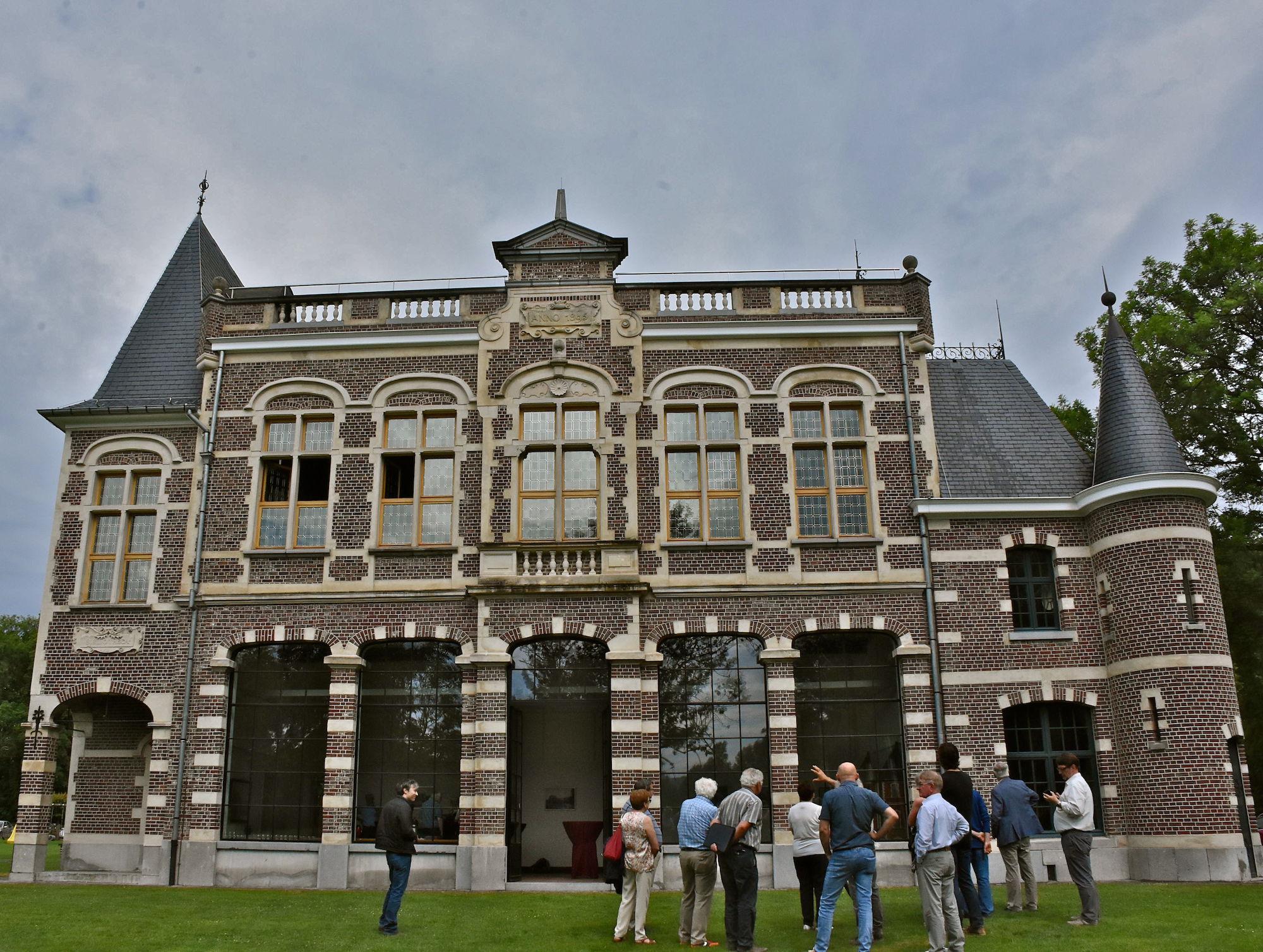 Erfgoedbank voorgesteld in Domein De Ghellinck