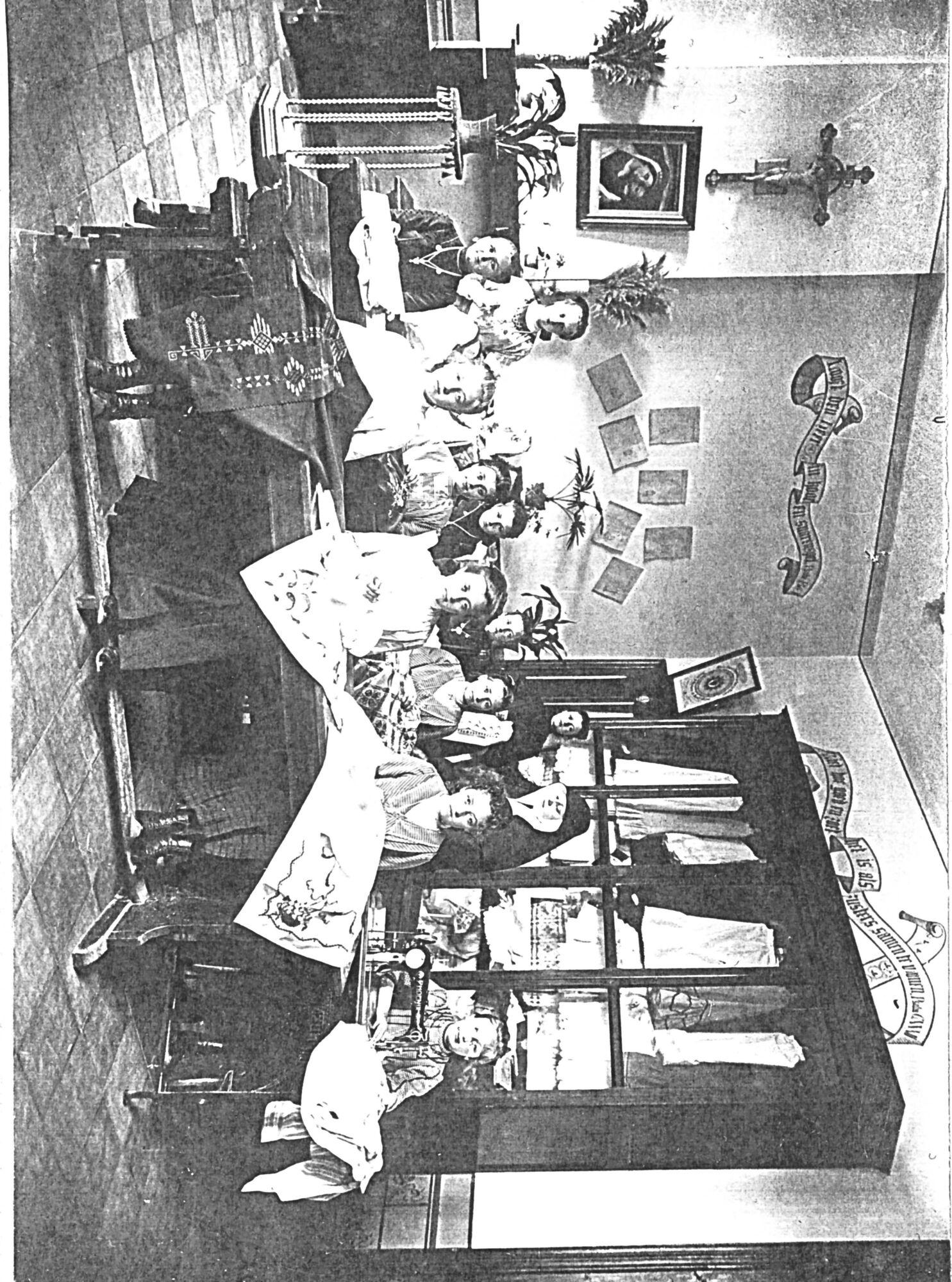 Klooster Deftinge - borduurklas