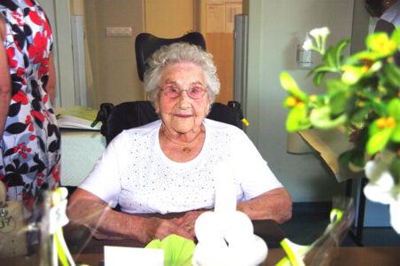 100 jarige Rachel Minnaert