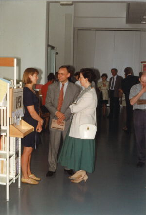 Opening van de nieuwe bibliothek