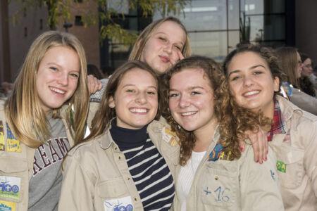 Viering 50 jaar Scoutsgroep Graalridders-Gudrun