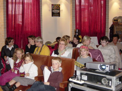 "Filmvoorstelling ""The Dark Crystal"" in bib"