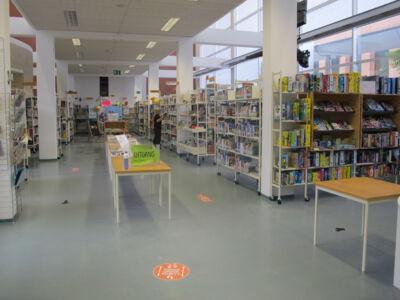 Bibliotheek in croronatijden