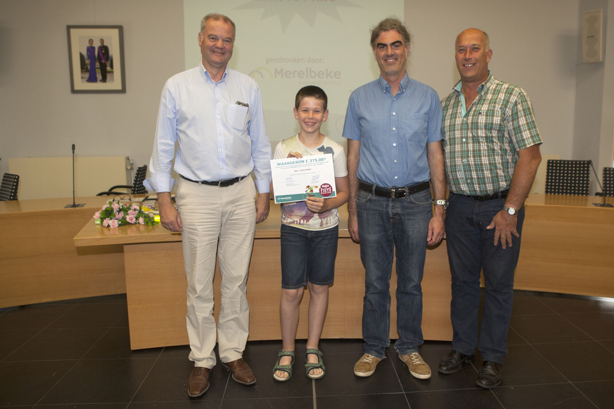 Helden op de fiets: prijsuitreiking scholen 2017
