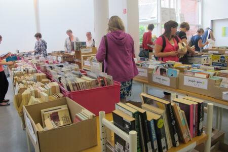 Boekenverkoop en herboek-actie