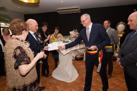 Diamanten bruiloft