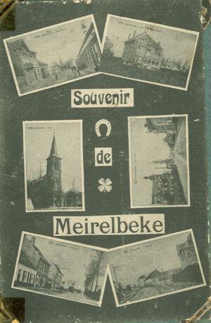 Postkaartje Merelbeke