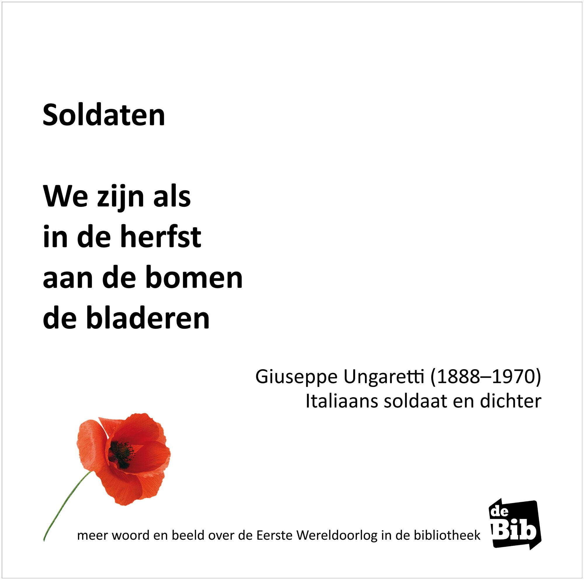 Herdenking Eerste Wereldoorlog