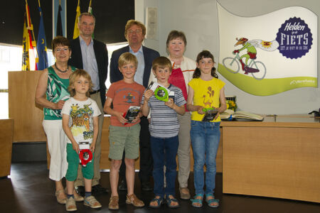 Helden op de fiets: prijsuitreiking scholen 2015