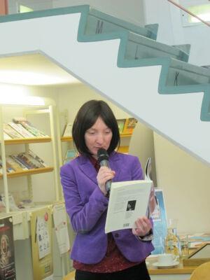 Gedichtendag in de bibliotheek van Merelbeke
