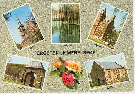 Postkaart Merelbeke