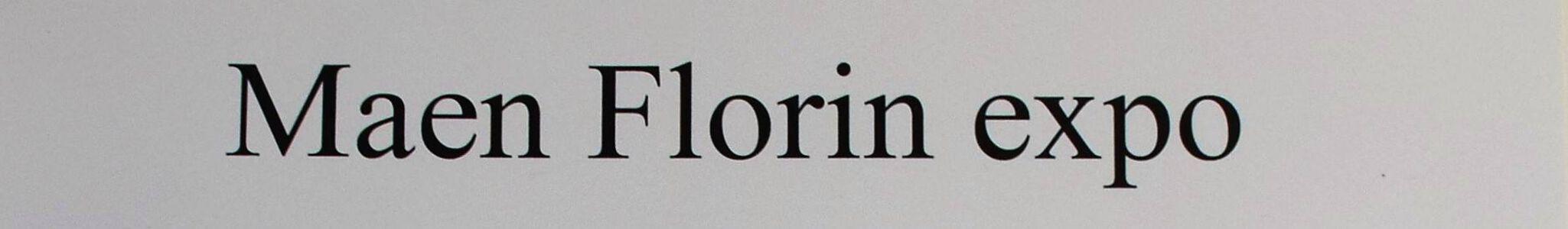 Maen Florin