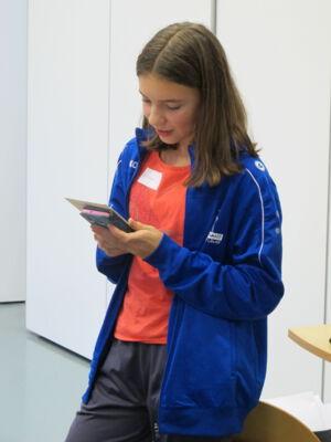 Workshop met Yerna Van den Driessche