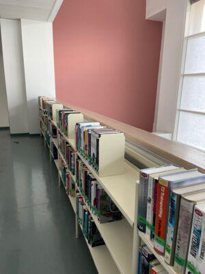 Fictieafdeling bibliotheek