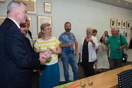 Ontvangst Tsjechische burgemeesters  Dinsdag 5 juni 2018