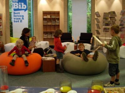 Verwendag in de bibliotheek