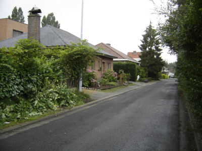 Lange streepweg