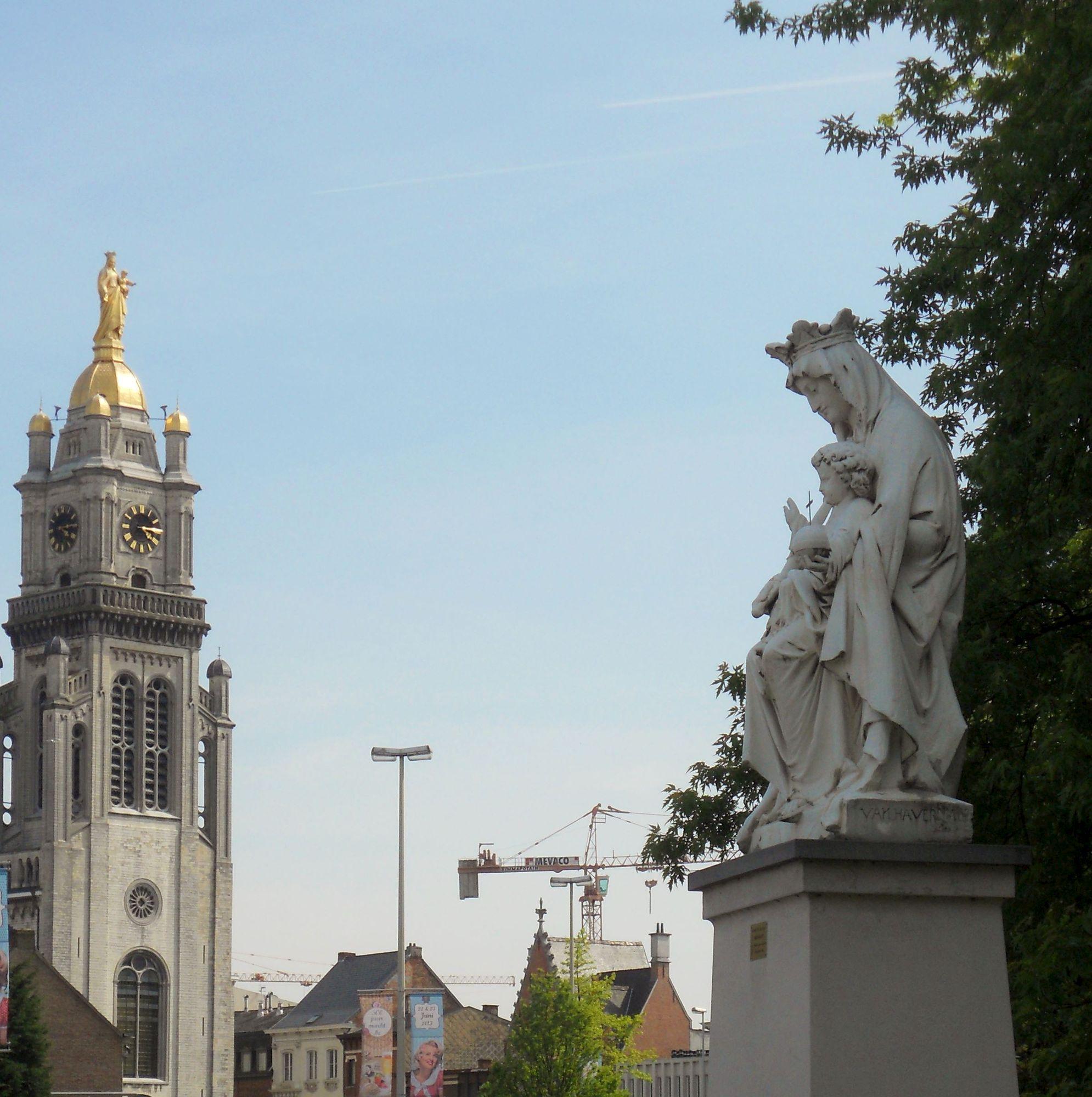 RED-team herstelt verlichting Onze-Lieve-Vrouwekerk
