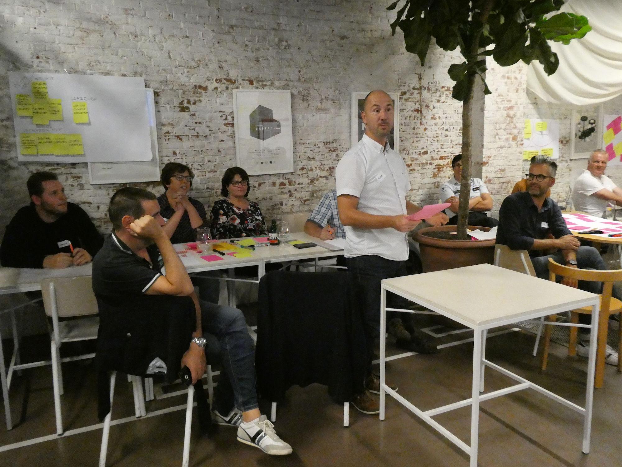 Sint-Niklaas slimme stad workshop