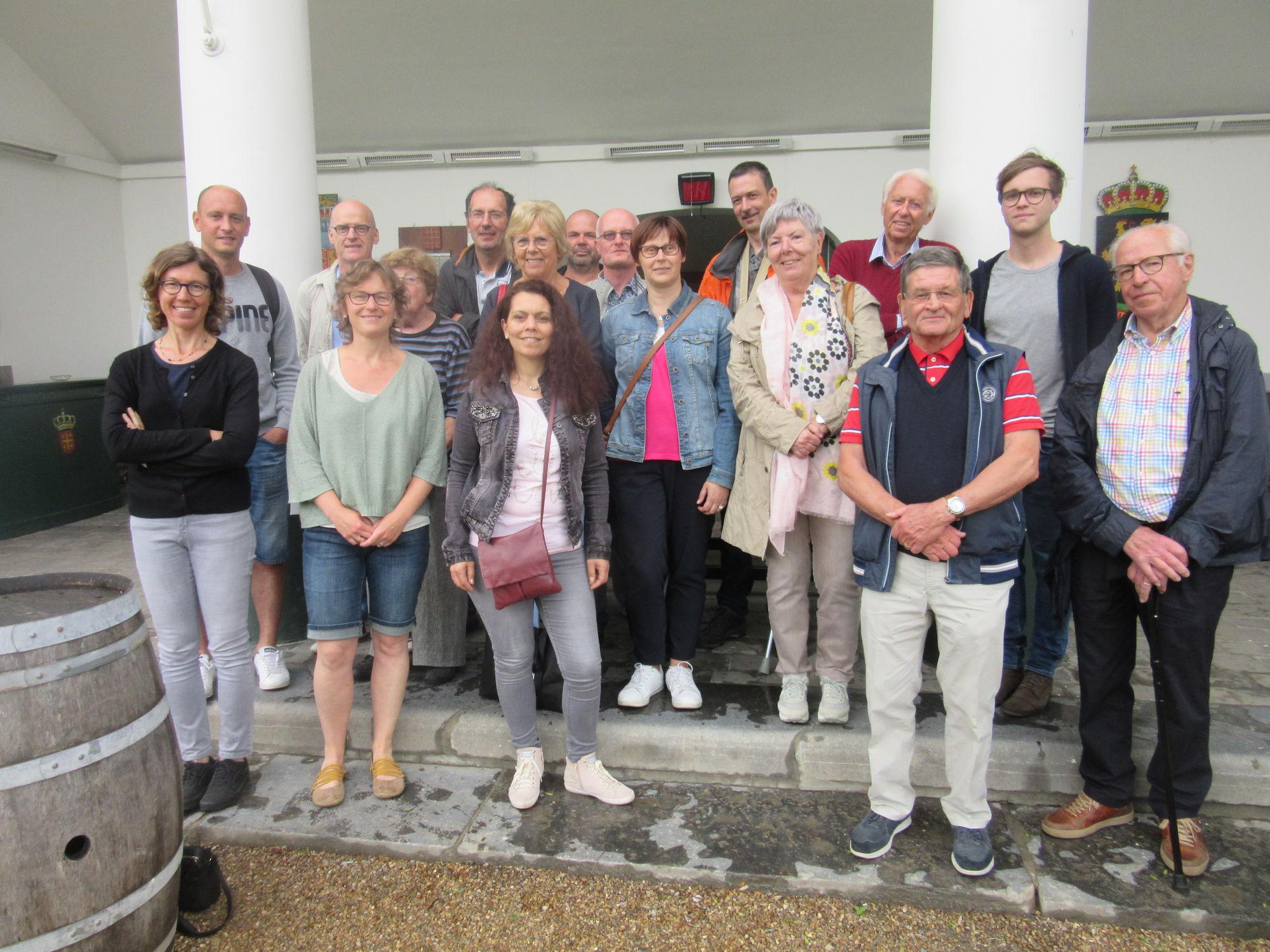 Teamdag personeel en vrijwilligers van het Provinciaal Archief op 31 mei 2018 in Brugge