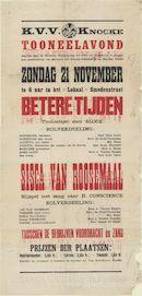 Provinciaal Archief - Knokke, tekstaffiche Eerste Wereldoorlog