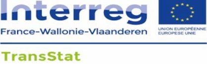 Logo Inderreg France - Wallonie - Vlaanderen - TransStat