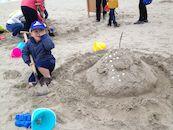 Het zandkasteel van piraat Alexander