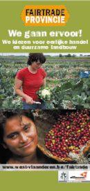 Postkaart Fair Trade actie 2009