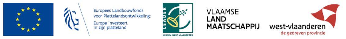 Logo: Midden-West-Vlaanderen met VLM.- Web.