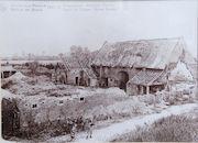 Digitale Collectie Vlaserfgoed Provincie West-Vlaanderen - Ruinen van Menen, 1914-1918 Bruggepoort hofstede Valcke