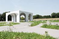 Onthaalpaviljoen Militaire begraafplaats Hooglede