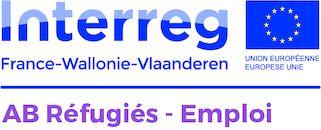 Logo Interreg AB Réfugiés-Emploi