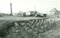 Kanaal Bossuit-Kortrijk - La Flandria in Zwevegem in 1980