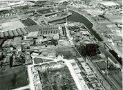 Kanaal Bossuit-Kortrijk - Zwaaikom van Bekaert in Zwevegem in 1976