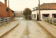 Kanaal Bossuit-Kortrijk -Zwevegem in oktober 1985