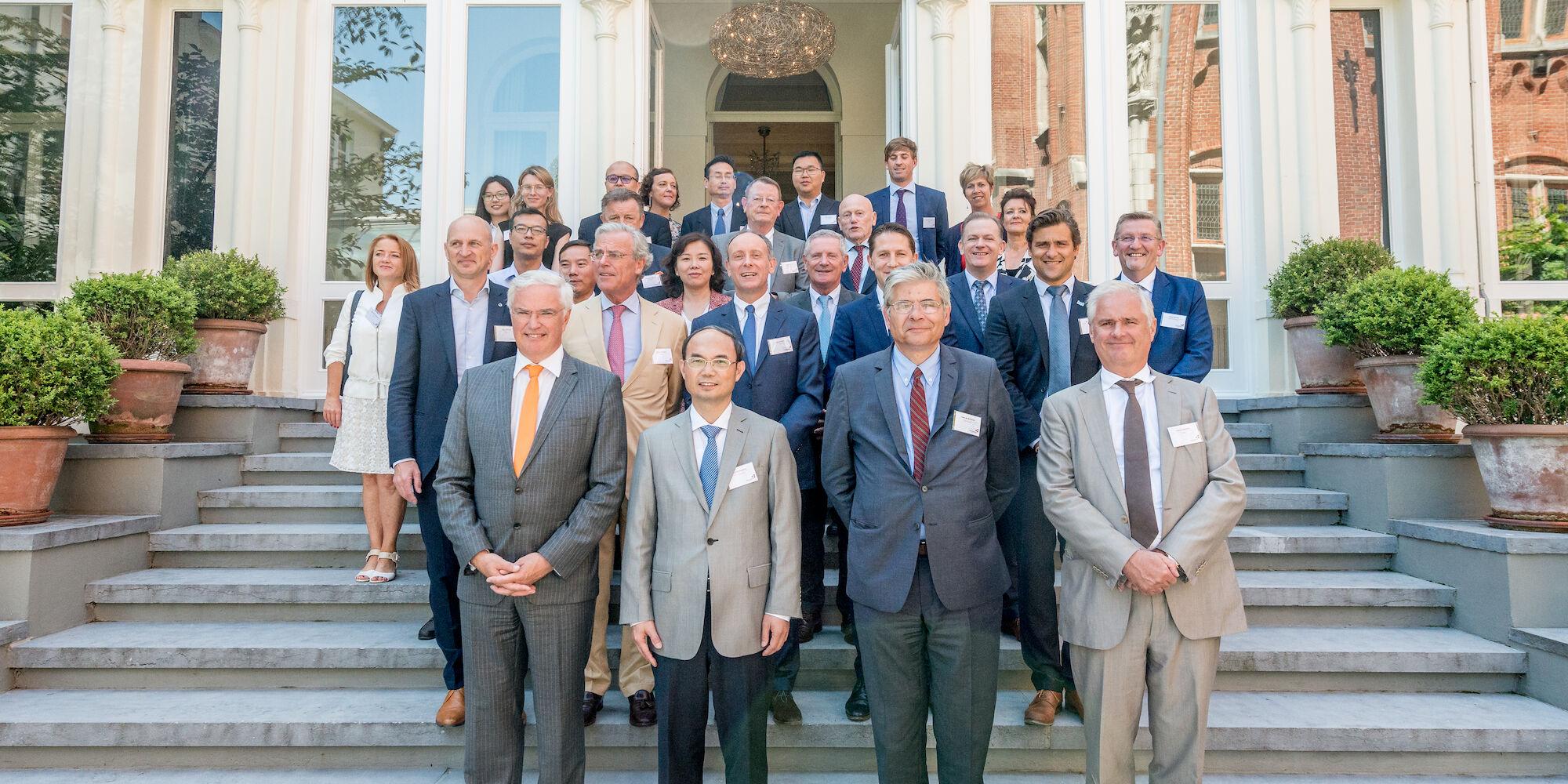 Ontvangst Chinese delegatie