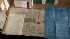 Collage van enkele archiefdocumenten uit het Provinciaal Archief