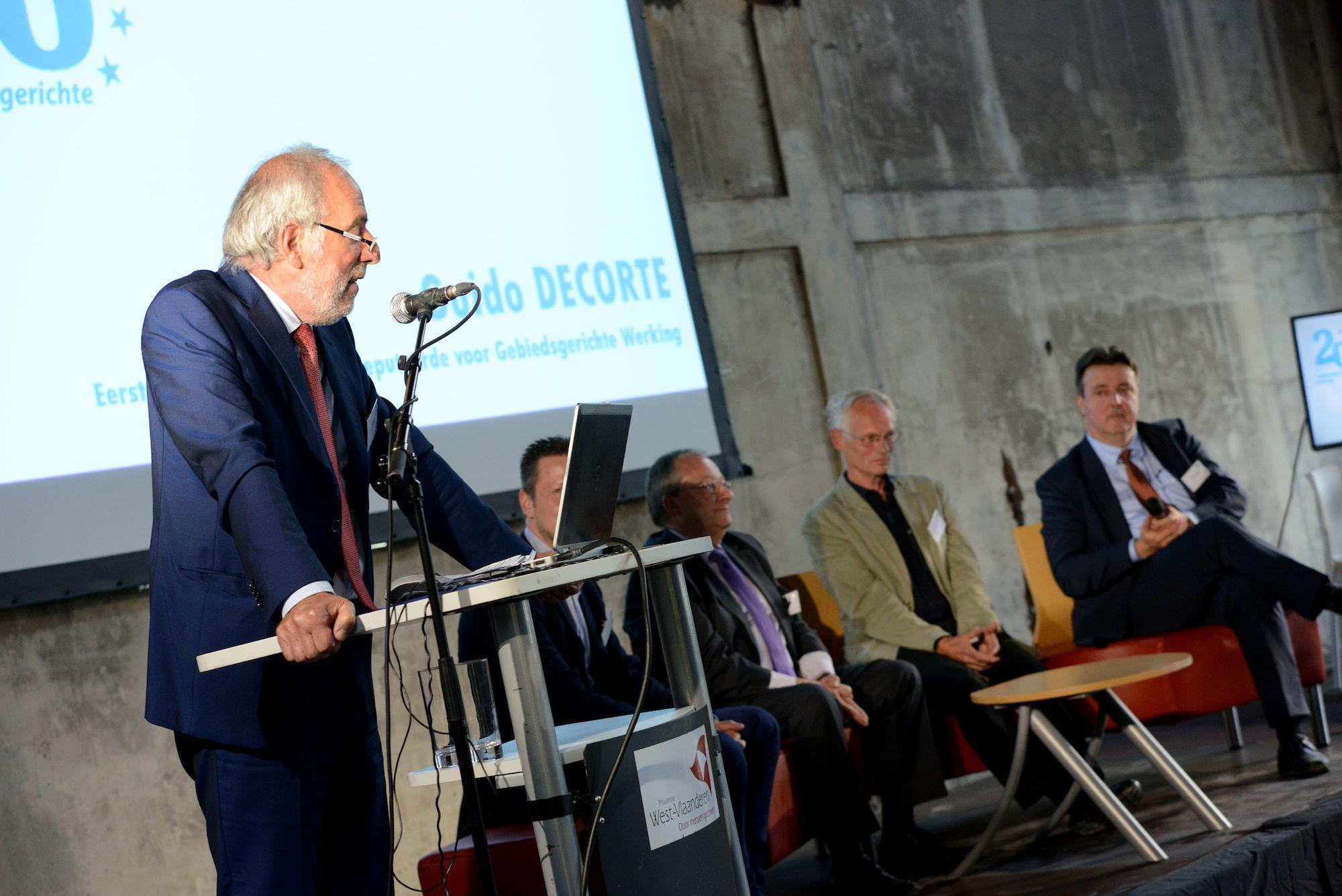 Viering 20 jaar Gebiedsgerichte Werking in Zuid-West-Vlaanderen