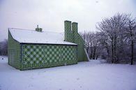 Winterse beelden van provinciedomein Raversyde