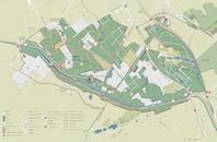Plattegrond van provinciedomein de Palingbeek