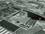 Kanaal Bossuit-Kortrijk -Sluis 8 in Zwevegem in 1976