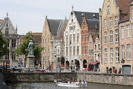 Het Tolhuis in Brugge.